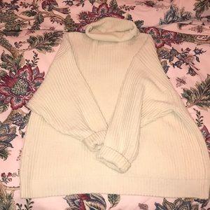 Chunky knit free people sweater